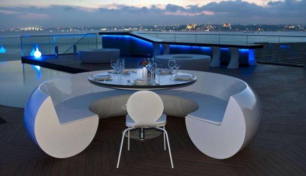 360 Istanbul Restaurant & Bar, Istanbul, Turkey
