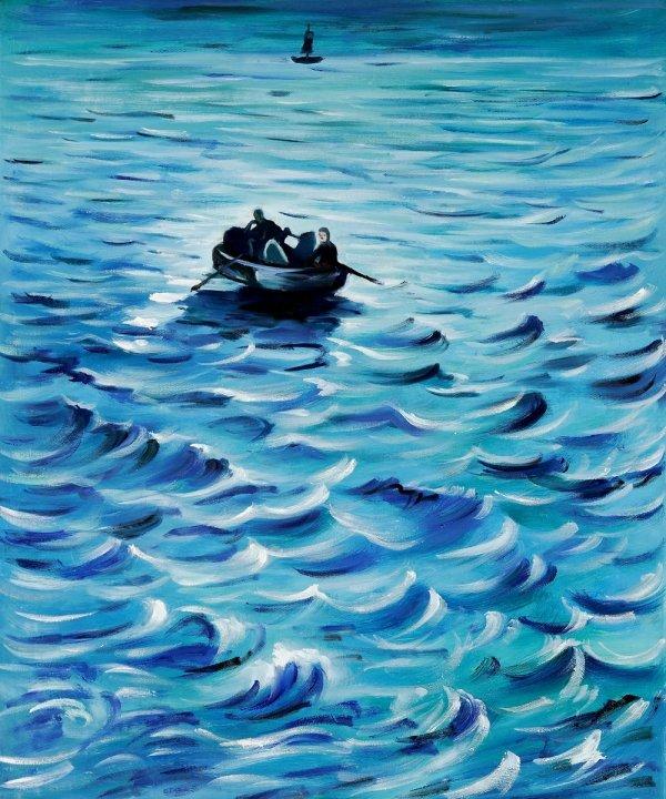 Catching Neptune - Manet