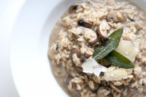 Mushroom Risotto (V)