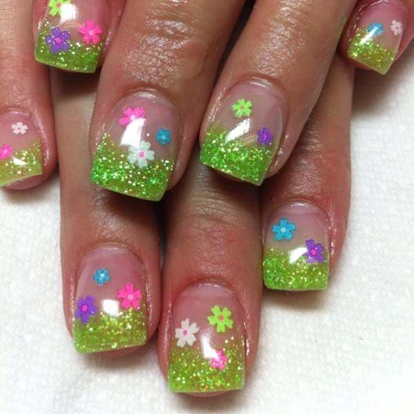 nail,finger,pink,nail care,green,