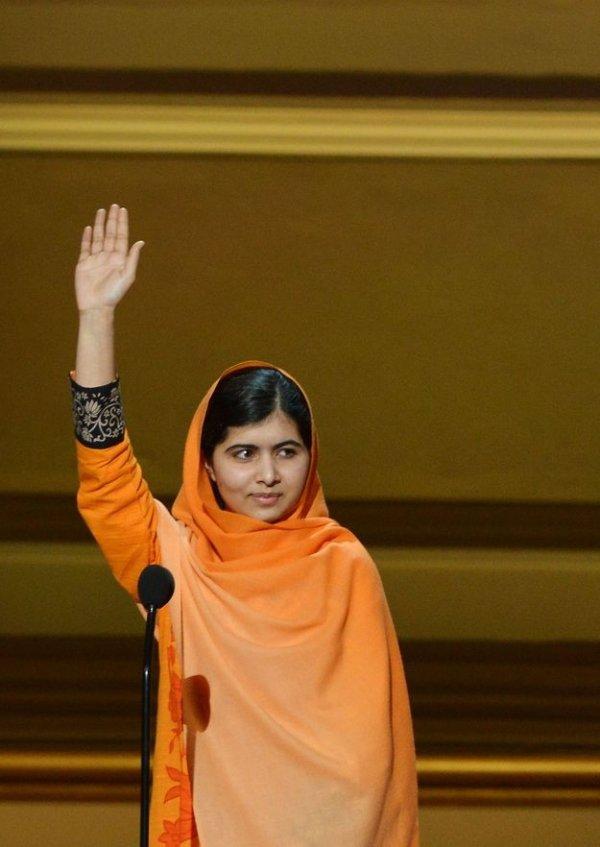Malala Yousafzai, 17