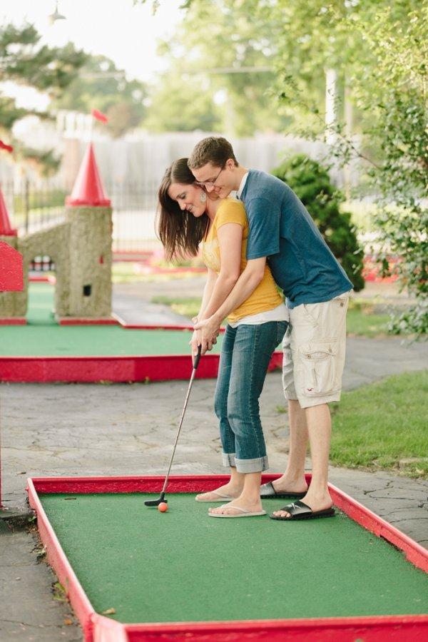 Mini Golfing