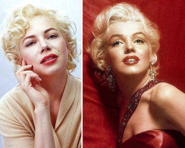Michelle Williams as Marilyn Monroe