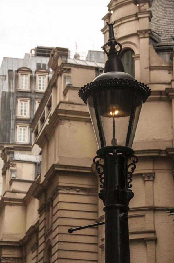 Webb Patent Sewer Ventilating Gas Lamp