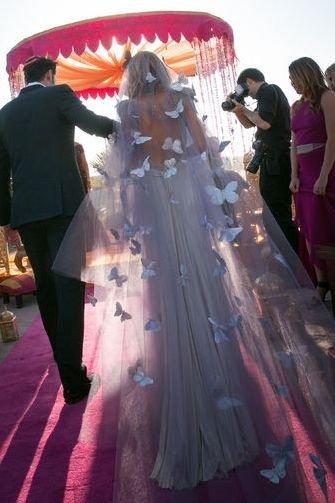 Butterfly Wedding Veil