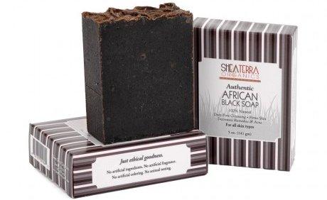 Shea Terra Organics Authentic African Black Soap