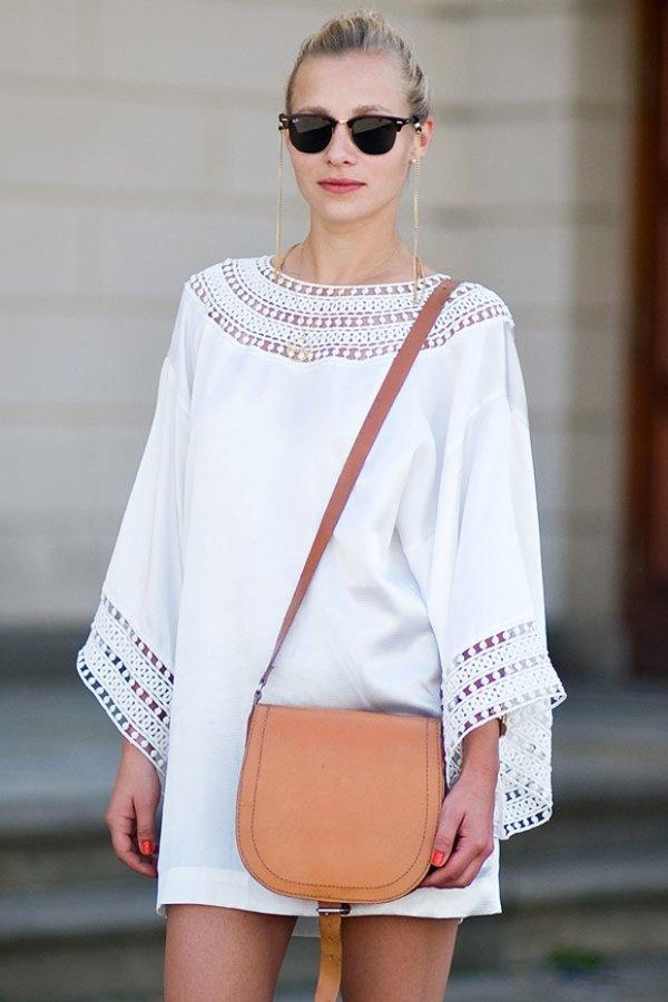 Clean, White Sundress