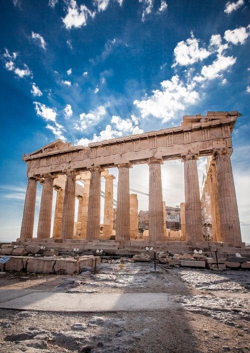 Parthenon,structure,ancient greek temple,landmark,ruins,