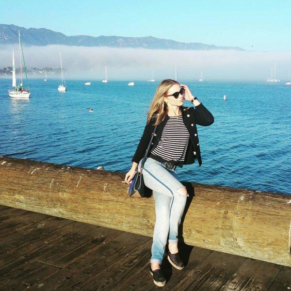 photograph, blue, sea, dress, vacation,