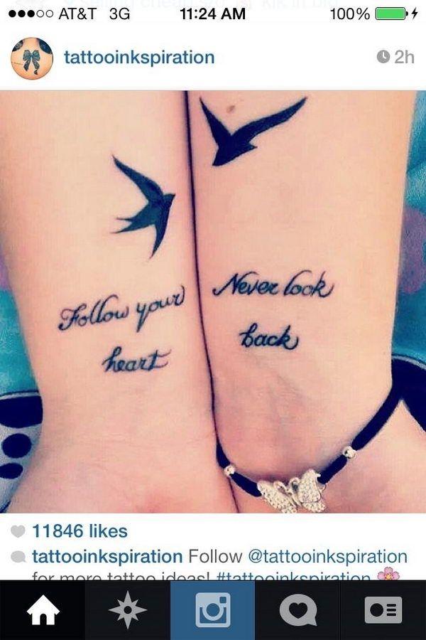 Bester freund beste freundin tattoo