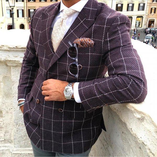 clothing, jacket, plaid, pattern, blazer,
