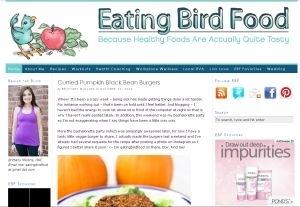 Eating Bird Food