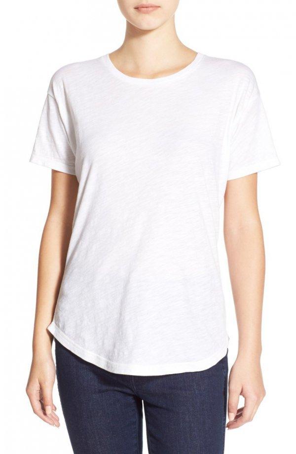 white, sleeve, neck, shoulder, t shirt,