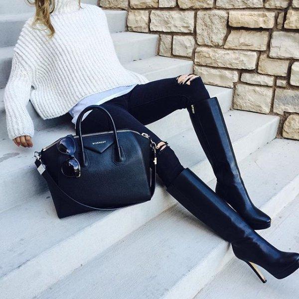 handbag, bag, blue, clothing, footwear,
