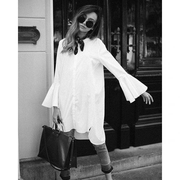 white, black, clothing, black and white, photography,
