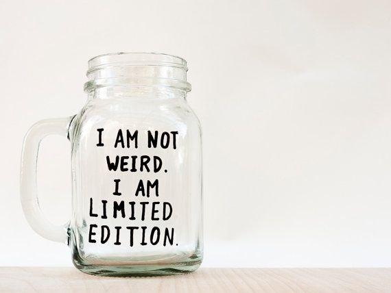 Limited Edition Mason Jar
