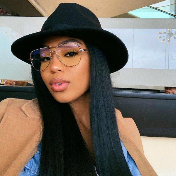 Eyewear, Hair, Hat, Clothing, Glasses,