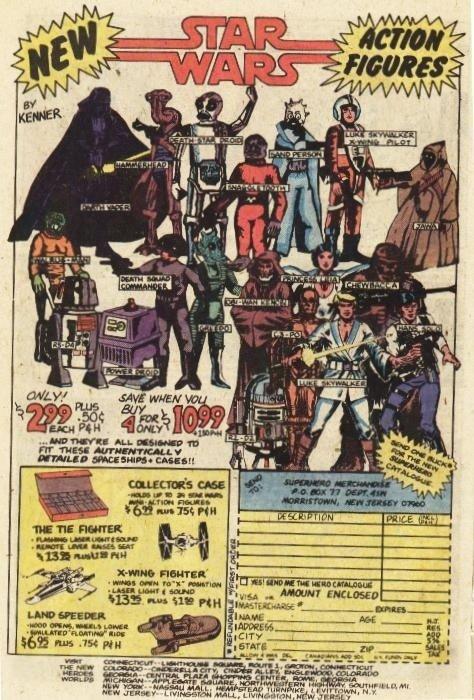 Star Wars Figures Ad