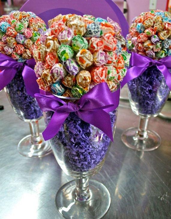 Lollipop Sucker Centerpiece Vase