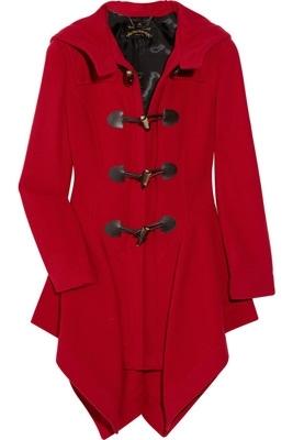 Vivienne Westwood Anglomania Wool-Blend Duffel Coat