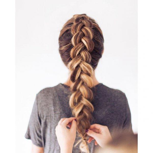 hair, hairstyle, braid, head, french braid,