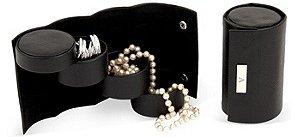Black, Jewelry Roll