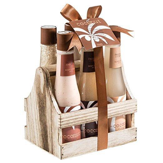 hamper, gift basket, basket, product, wine bottle,