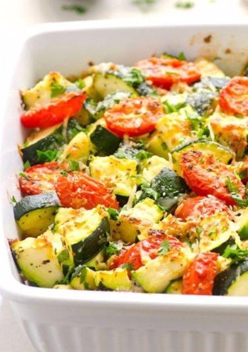 Quick and Healthy Zucchini Casserole