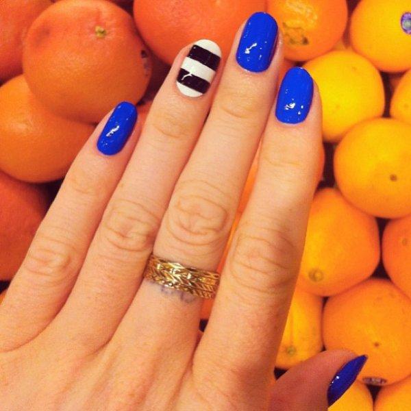 color, nail, orange, yellow, manicure,