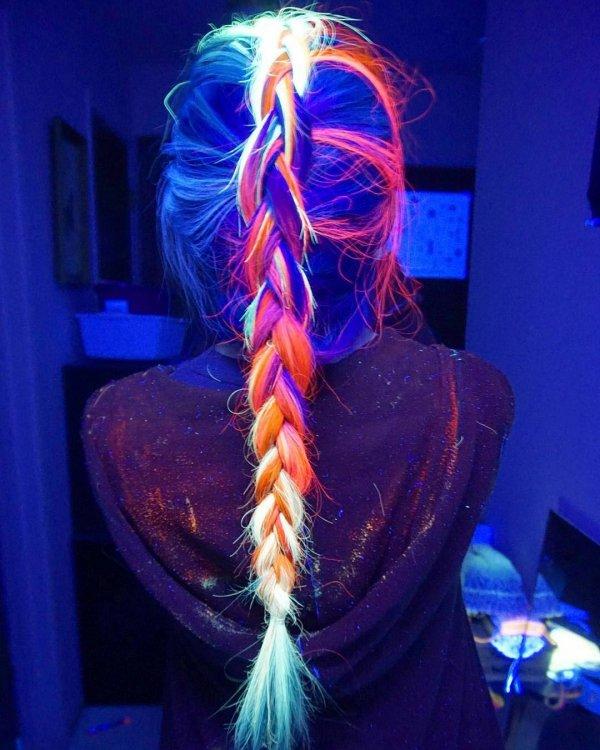 Her Rainbow Hair