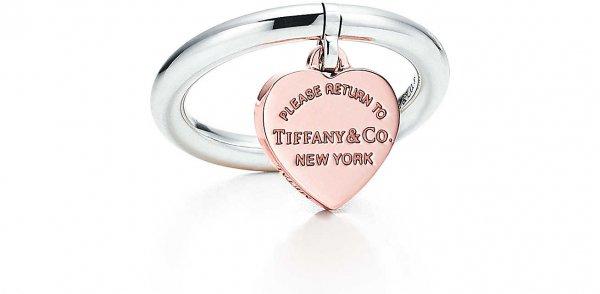 RETURN to TIFFANY® Heart Tag Ring