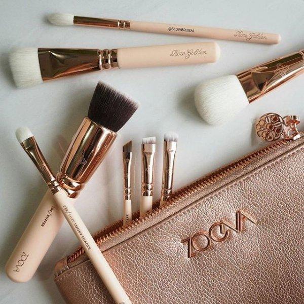 brush, hand, eye, cosmetics, tool,