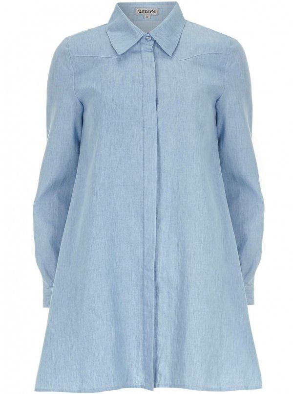 Alice & You Chambray Shirt Dress
