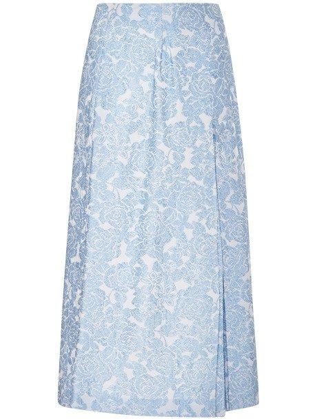 Vivetta Floral Jacquard Midi Skirt