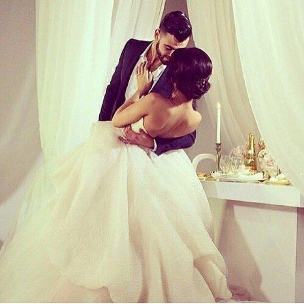 bride, wedding dress, clothing, woman, person,