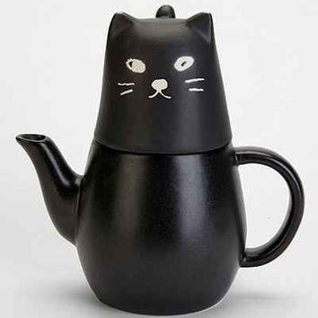 Black Cat Tea-for-One