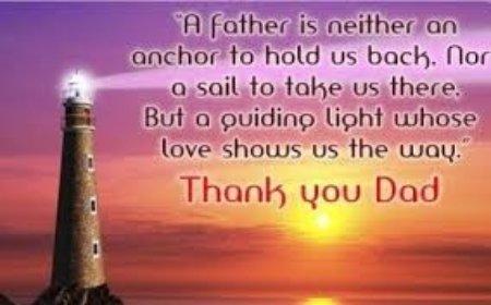 A Father's Guiding Light