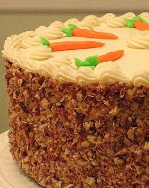 dessert, cake, buttercream, carrot cake, food,