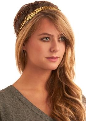 In High Feather Headband
