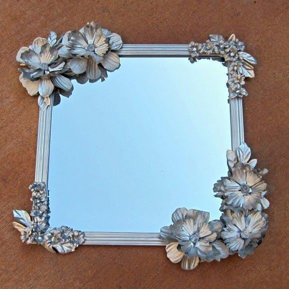 Art Nouveau Inspired Mirror