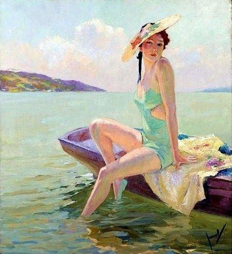 The Bathing Beauty - Cucuel