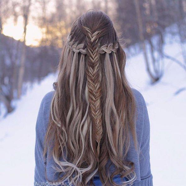 hair, clothing, hairstyle, long hair, bangs,