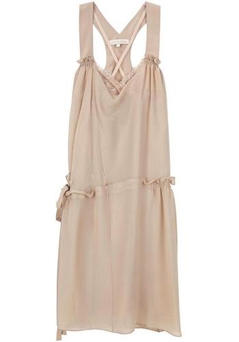 Vanessa Bruno Seersucker Silk Dress