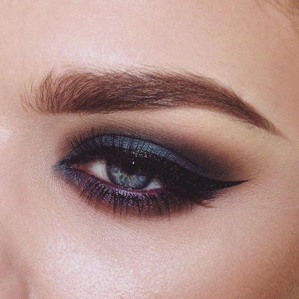 eyebrow, eye, eyelash, brown, purple,