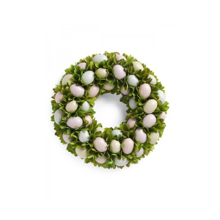 green, wreath, christmas decoration, decor, circle,