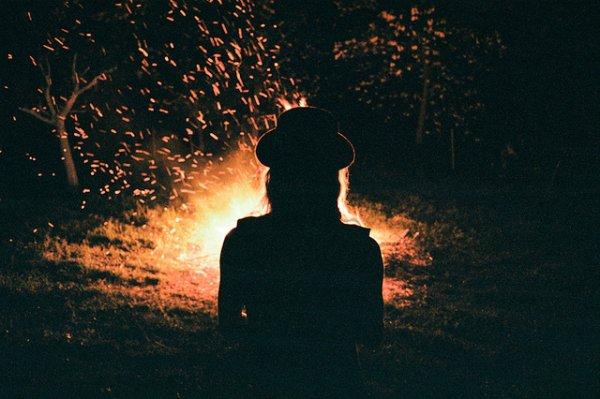 Bonfires = Camping & Fall Nights