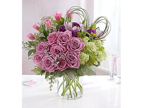 flower, flower bouquet, flower arranging, pink, floristry,