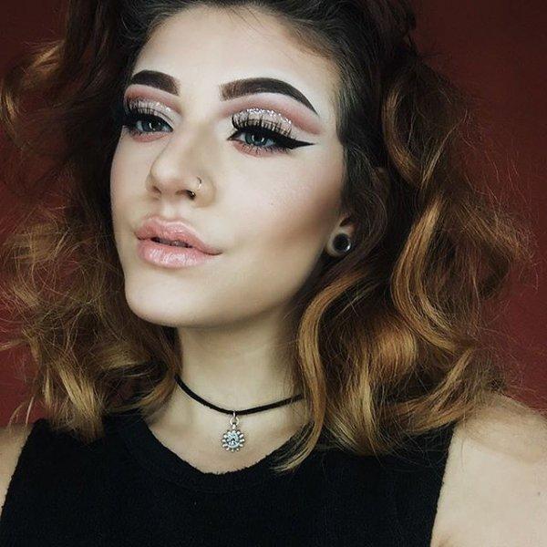 eyebrow, hair, hairstyle, model, woman,