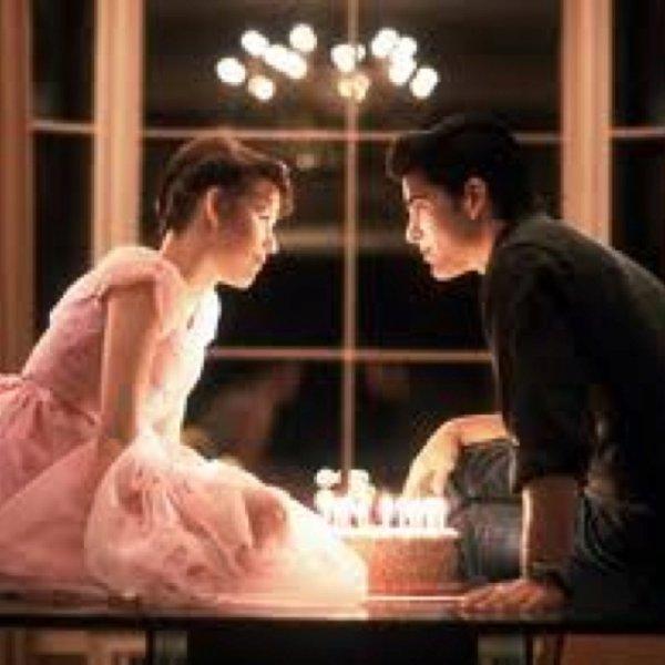 "Molly Ringwald & Michael Schoeffling in ""Sixteen Candles"""