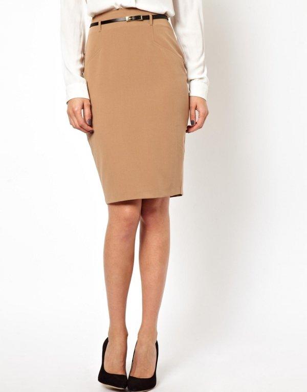 The Brown Skirt